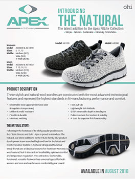 Apex The Natural Sell Sheet